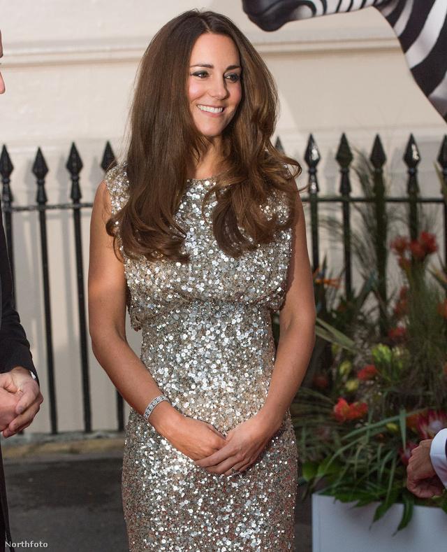 Katalin hercegné most jelent meg harmadszor hivatalosan György herceg születése óta
