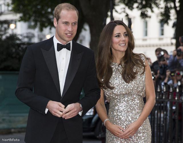 Jenny Packhamtől választott ruhát Katalin a Tusk alapítványi gálára, melyen férjével, Vilmossal együtt vettek részt Londonban.