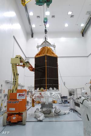 A Kepler 2009-ben az AStrotech hangárában