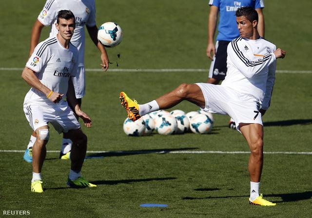 Bale és Ronaldo