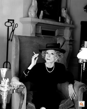 Bette Davis ret FLAT