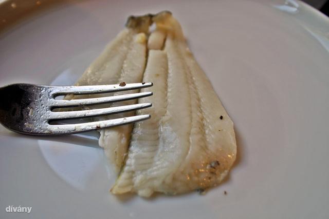 Így nézett ki a lepényhal megsütve