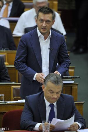 Rogán Antal és Orbán Viktor