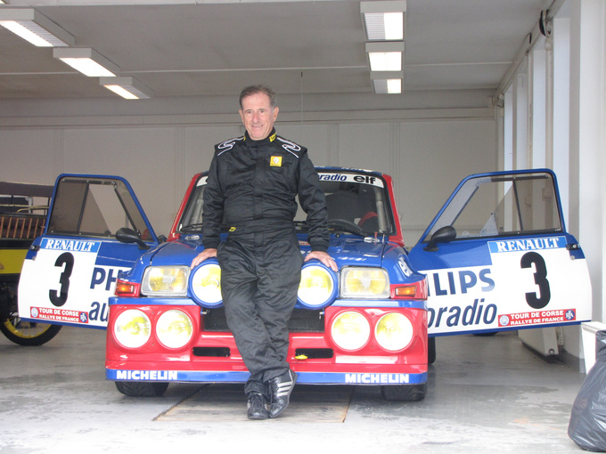 Monsieur Ragnotti and the Renault 5 Maxi Turbo. Both are legends