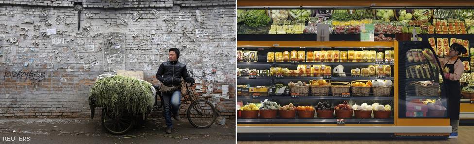 A régi lakónegyedben 700 jüanba (nagyjából 25 ezer forintba) kerül egy kis szoba egy hónapra. A jómódú, modern környéken viszont 14 ezer jüan egy berendezett szoba bérleti díja; egy háromszobás lakásé pedig 34 ezer (1,2 millió forint). Ennek megfelelően a két környék boltjaiban nagy különbség van a választék között.