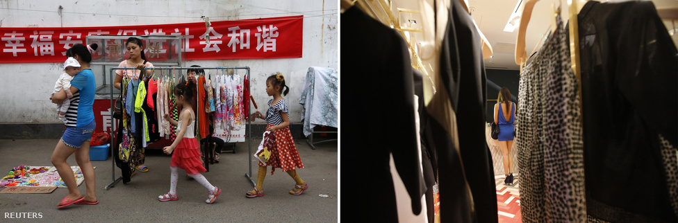 Most már a teljes globális luxuscikk-fogyasztás negyedéért Kína felel. A ruhagyártás viszont már hosszú évekkel ezelőtt elkezdett még olcsóbb országokba, például a Fülöp-szigetekre vagy Bangladesbe áttelepülni.