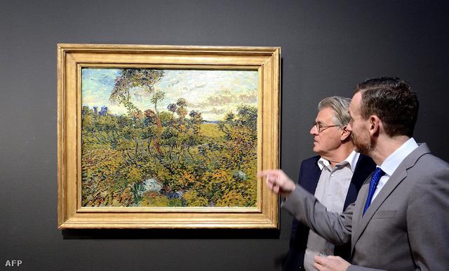 Van Gogh: Napnyugta Montmajournál