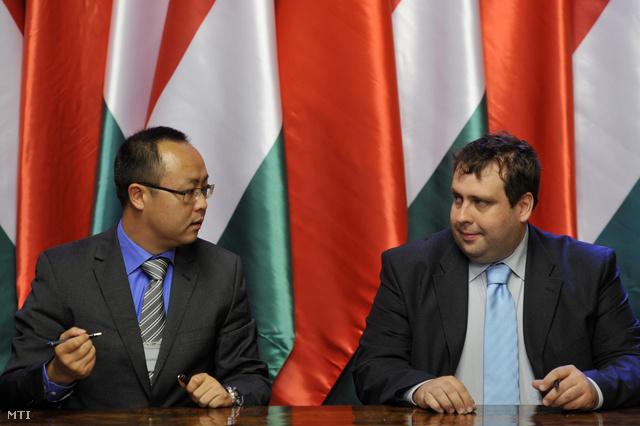 Csang Hsziaovei és Kerekes György