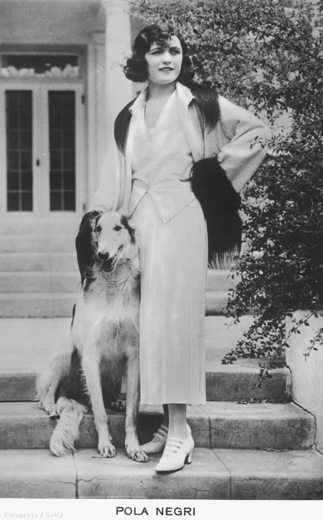 Pola Negri spenóton és tojáson élt.
