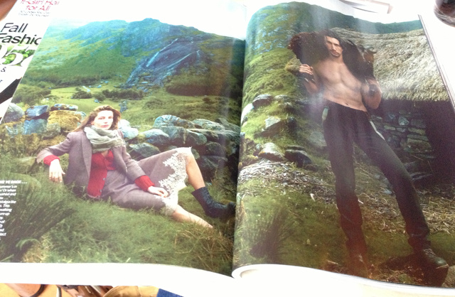 Csak a hangulat kedvéért: Vogue editorial