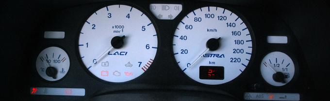 What a great idea - white dials!