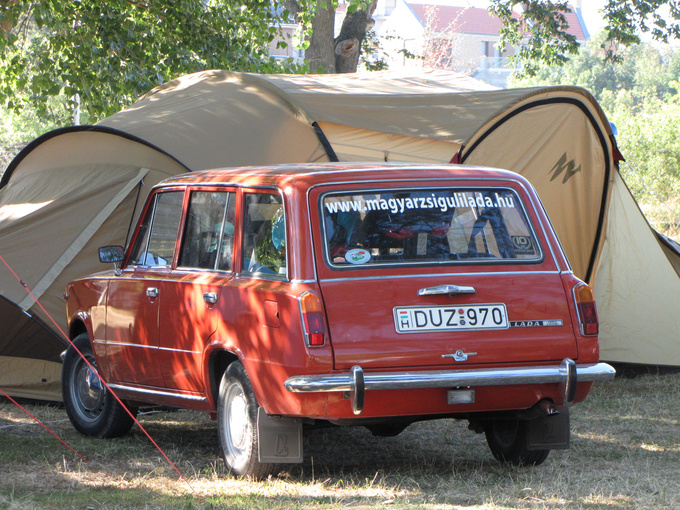 For me this is the most beautiful Lada, the Lada 1200 combi (estate)