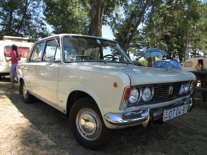 Polski Fiat 125P, the simplified version of the Fiat 125, made in Poland