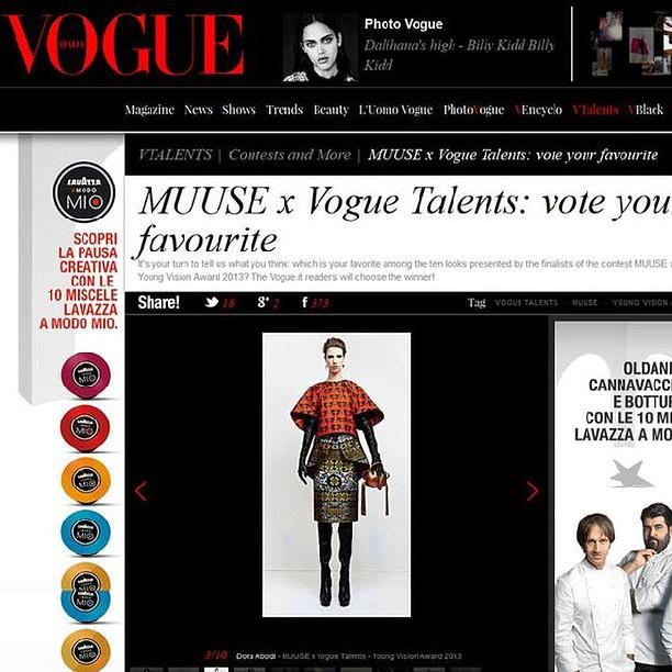 Szavazzon Abodi Dórára a Vogue Talentsen!