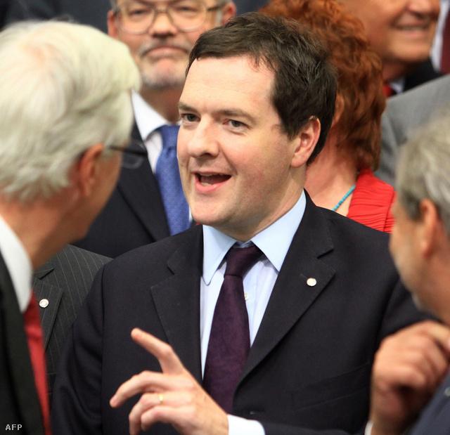 George Osborne, az Egyesült Királyság pénzügyminisztere