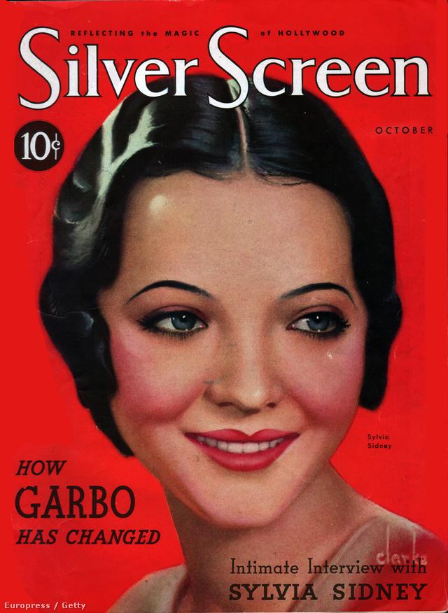 Silvia Sydnes színésznő arcát a legszimmetrikusabbnak a harmincas években.