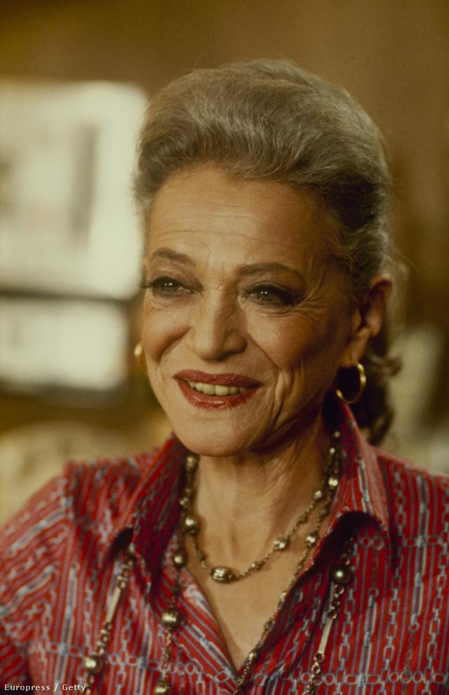 Így nézett ki Sylvia Sydney 1981-ben.