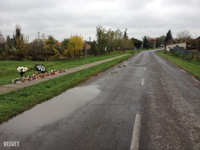 A baleset helyszíne Dunaegyházán.