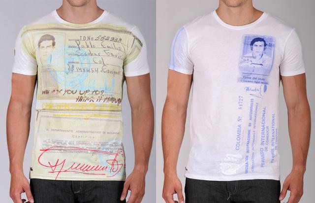 Önnek is lehet Pablo Escobar-pólója, amennyiben szeretne és van rá közel 22 ezer forintja.