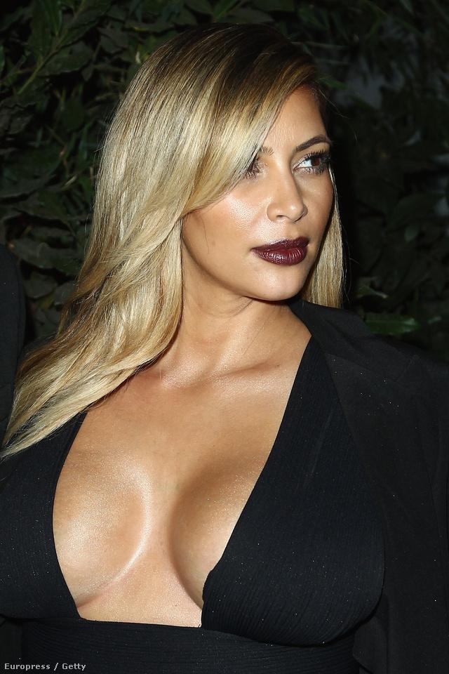 Kim Kardashianre nehéz szavakat találni.