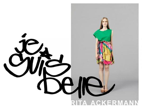 Idén tavasszal debütált a Rita Ackermannal közös kollekció. A szokynával a bemutató teremben találkoztunk, és most 10 ezer forintért lehet a miénk.