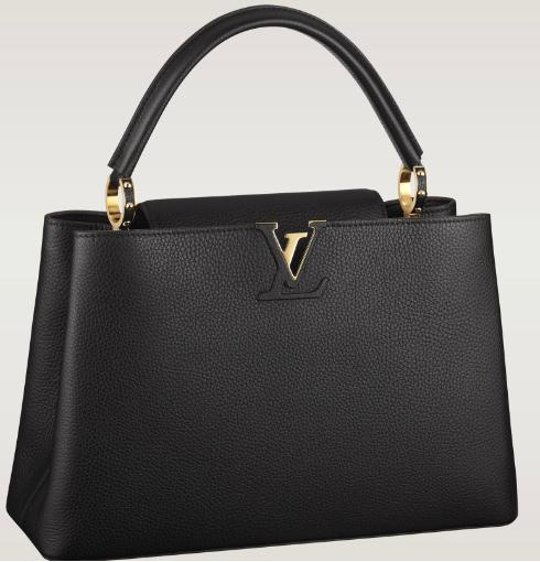 Íme az új IT bag, a Louis Vuitton Capucine-je.