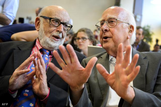 Francois Englert és Peter Higgs