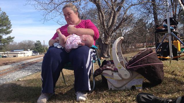 Mama June az unokával
