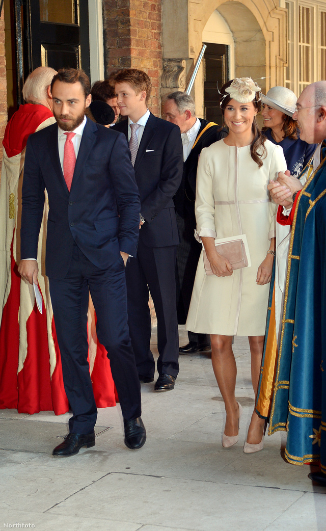 Pippa Middleton ruháját a hatvanas évek couture ruhái ihlették.