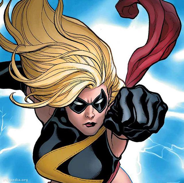 Ms. Marvel, eredeti nevén Carol Danvers, szuperhős a Marvel Comics képregényeiben. A szereplőt Roy Thomas író és Gene Colan rajzoló alkotta meg.