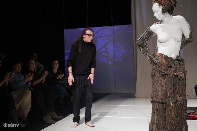 Evgeny Avetisian tervező a fináléban.