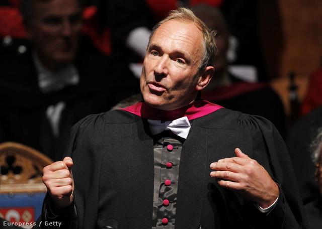 Sir Tim Berners-Lee nélkül ma lehet, hogy nem olvasnák ezt a cikket az interneten