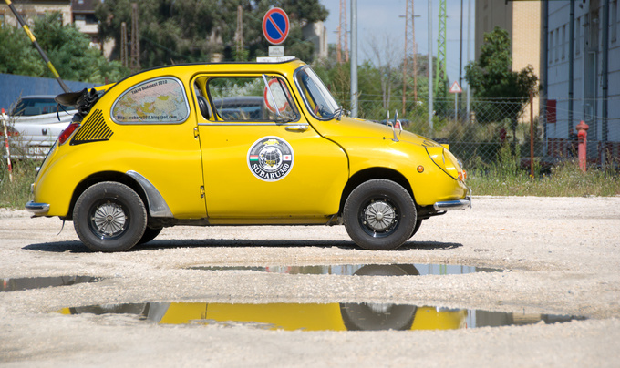 Was there an influence from the Fiat 500 or not?