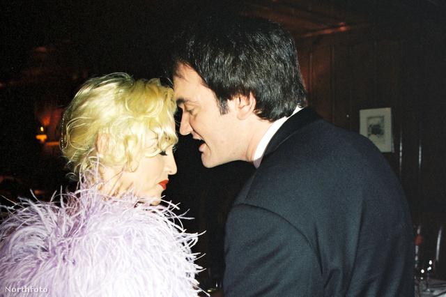 Madonna és Tarantino 1995-ben