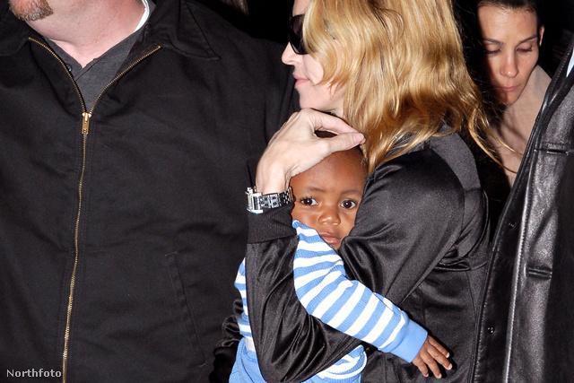 Madonna és David 2006-ban