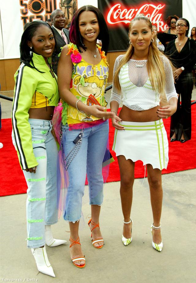 Így jártak díjátadókra is a hírességek 2003-ban.