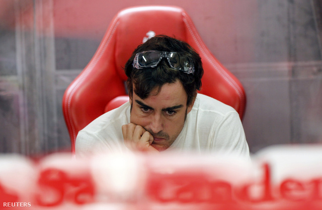Alonso 2010 óta 11 GP-t nyert a Ferrarival, Vettel a Red Bull-lal 32-t