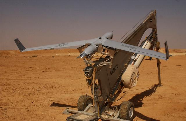 ScanEagle drón kilövőállásban
