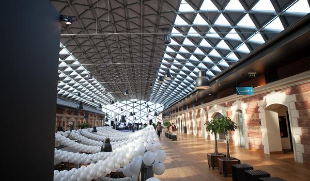 Múzeumba oltott bevásárlóközpont lett a Bálna