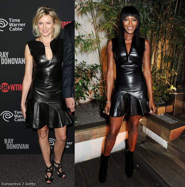 Mindketten a Naomi névre hallgatnak és mindketten hétszázezres bőrruhában paradéztak.