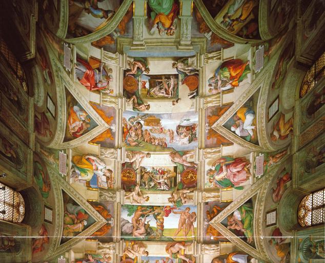 A Sixtus-kápolna mennyezete