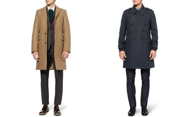 És ha kicsit drágábbra vágyunk, akkor nézzünk fel a MrPorter weboldalára és keressük meg ezt a teveszínű ACNE kabátot  560, vagy kék McQueent 790 euróért.