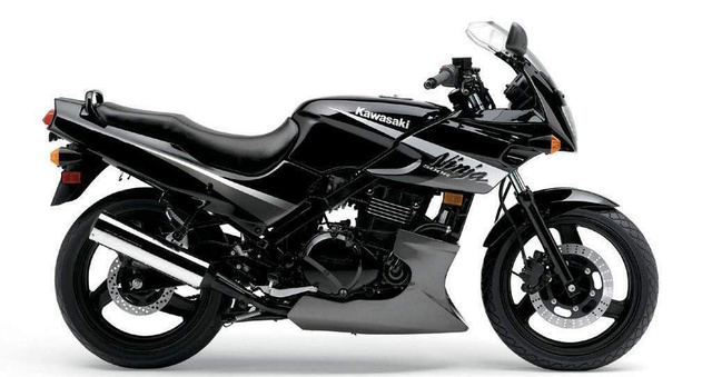 Kawasaki GPZ 500S, a nagy előd