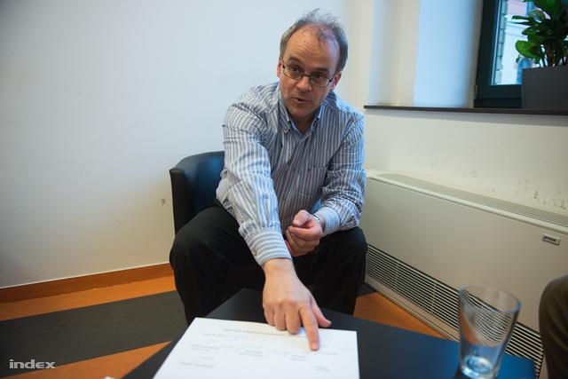 Horváth András az Indexnek adott interjún
