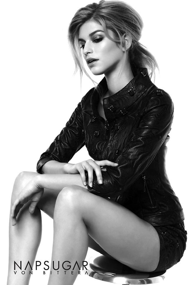 A kampányarc az Attractive Models legújabb felfedezettje.