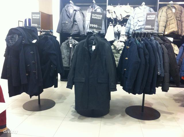 A H&M-ben elég lehangoló a helyzet. Sajnos a C&A-ban sem jobb.