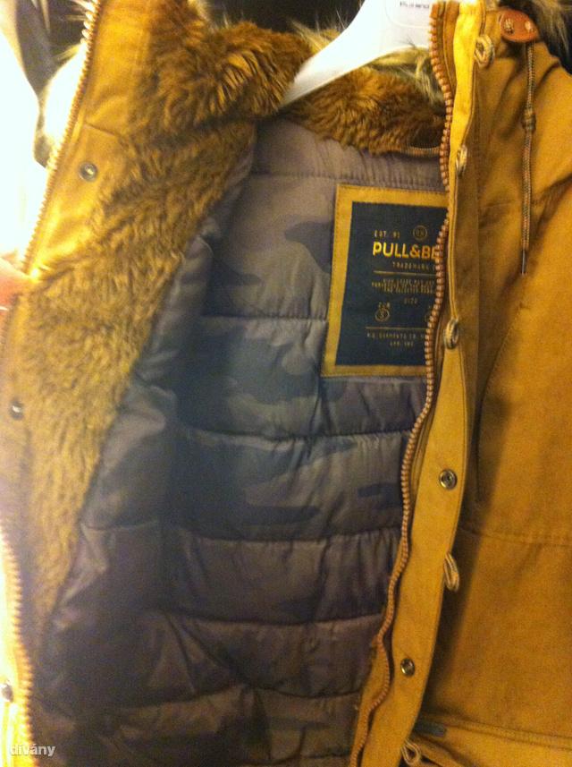 A Pull&Beart is ajánlották olvasóink, ide is benéztünk. Két melegnek tűnő darabot láttunk, sajnos sok volt a dzseki, amit már a mostani időjárásra is keveslünk.