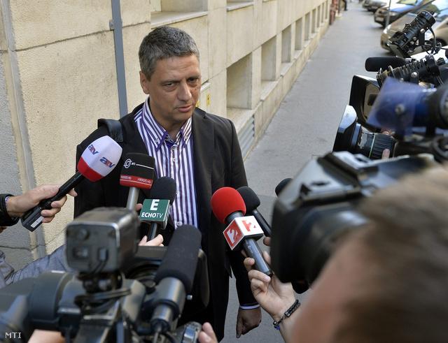 Gréczy Zsolt, a Demokratikus Koalíció szóvivője