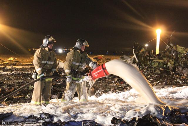 Leszállás közben lezuhant egy személyszállító repülőgép Kazanyban, Moszkvától 820 kilométerre keletre.