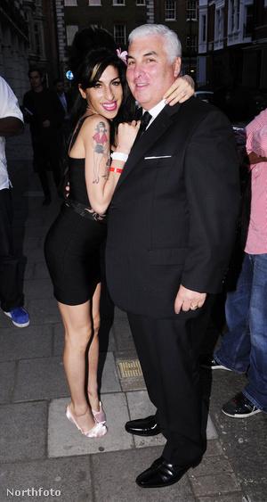 Amy és Mitch Winehouse